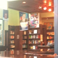 Photo taken at Busboys and Poets by Joan E. on 7/8/2013