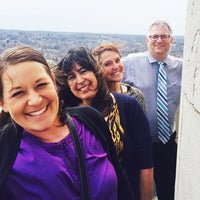 Photo taken at Top Of The Dome! by Laura G. on 4/1/2015