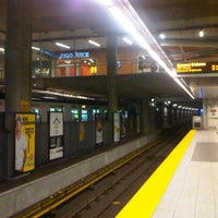 Photo taken at Broadway - City Hall SkyTrain Station by John R. on 9/14/2012