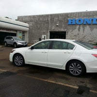 Photo taken at Huntington Honda by George P. on 9/3/2013
