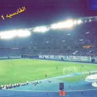 Photo taken at Jaber AlAhmad International Stadium by Ali B. on 9/23/2016