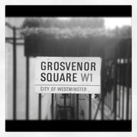 Photo taken at Grosvenor Square by Colin B. on 9/30/2012