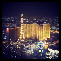 Photo taken at Paris Hotel & Casino by Bas A. on 7/19/2013