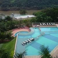 Photo taken at Amerian Portal Del Iguazu Hotel by Marcelo N. on 7/13/2013