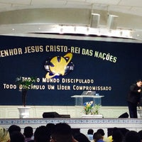 Photo taken at Igreja da Paz by Samuel A. on 7/13/2014