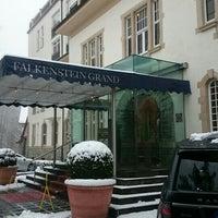 Photo taken at Falkenstein Grand Kempinski Hotel by Meshari A. on 2/20/2016