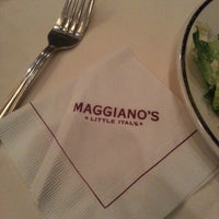 Photo taken at Maggiano's Little Italy by Gregory M. on 4/6/2013