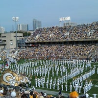 Photo taken at Bobby Dodd Stadium by Shannon N. on 10/28/2012