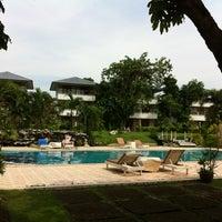 Photo taken at Camelia Resort Kanchanaburi by Porziie M. on 12/1/2012