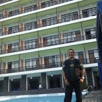 Photo taken at Mesra Hotel Swimming Pool by Wuryanano™ on 10/26/2013