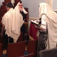 Photo taken at Congregation B'nai Avraham by Ed W. on 2/5/2013