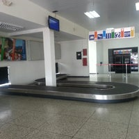 Photo taken at Aeropuerto General Tomás De Heres (CBL) by Eduardo E. on 8/2/2013