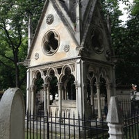 Photo taken at Père Lachaise Cemetery by Natacha H. on 5/19/2013