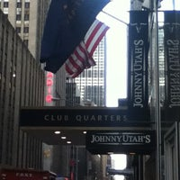 Photo taken at Club Quarters Hotel, opp Rockefeller Center by Jara M. on 12/24/2012