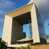 Photo taken at Grande Arche de la Défense by Doug M. on 10/11/2012