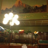 Photo taken at La Pinte - Buffet de la gare CFF by Michel on 12/23/2012
