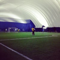 Photo taken at Soccerworld Polson Pier by Xavi P. on 3/18/2013