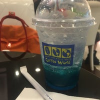 Photo taken at Coffee World by Oil P. on 5/11/2016
