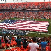 Photo taken at Hard Rock Stadium by Yulia T. on 9/17/2012