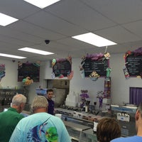 Photo taken at Beach Plum Homemade Ice Cream by John S. on 8/20/2016