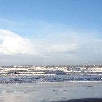 Photo taken at Enniscrone Beach by Niamh B. on 12/25/2013
