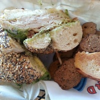 Photo taken at Boatyard Bagel Co. by Tom T. on 2/2/2013