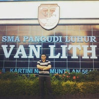 Photo taken at SMA Pangudi Luhur Van Lith by Guntur Benedict H. on 5/11/2015