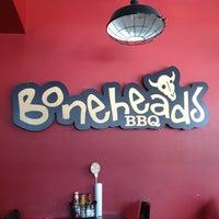 Photo taken at Boneheads BBQ by Troy W. on 1/27/2013