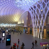 Photo taken at London King's Cross Railway Station (KGX) by Nicholas T. on 5/28/2013