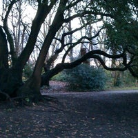 Photo taken at Fulham Palace Gardens by Kevan D. on 12/27/2012