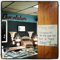 Photo taken at Riverside Chocolate Factory by Ericka A. on 7/4/2013