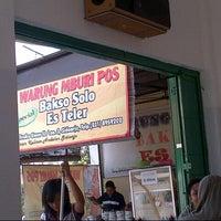 Photo taken at Bakso Mburi Pos by Andi R. on 9/28/2012