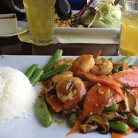 Photo taken at Bamboo Bistro by Anne K. on 6/20/2014