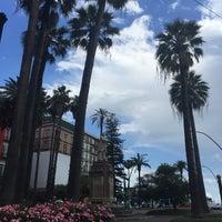 Photo taken at Piazza Vittoria by Dragos M. on 6/1/2016