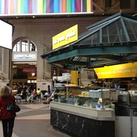 Photo taken at South Station Food Court by Simon Λ. on 5/23/2013