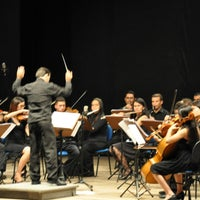 Photo taken at Teatro Municipal Severino Cabral by João K. on 12/18/2012