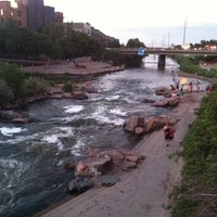 Photo taken at Confluence Park by Aileen O. on 6/23/2013