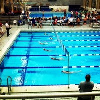 Photo taken at McCoy Natatorium by Ashley A. on 2/22/2014