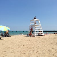 Photo taken at Fullerton Beach by Dalia J. on 8/10/2013