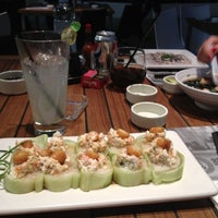 Photo taken at Sushi Roll by Jacqueline H. on 11/19/2012