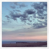 Photo taken at Ocean Parkway Beach by Maria A. on 6/16/2013