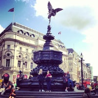 Photo taken at Piccadilly Circus by Walber C. on 5/6/2013