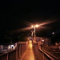 Photo taken at Alexandra Palace Railway Station (AAP) by Trystan on 11/25/2012
