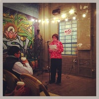 Photo taken at Stories Books & Cafe by Drian J. on 1/18/2013