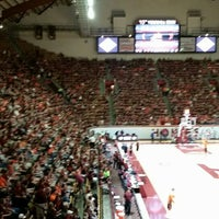 Photo taken at Cassell Coliseum by JILL on 3/16/2016