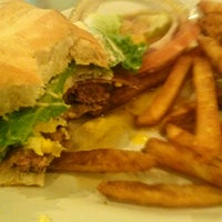 Photo taken at r.g. Burgers by Ben L. on 11/21/2013