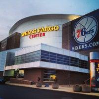 Photo taken at Wells Fargo Center by Tim Y. on 3/8/2013