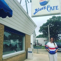 Photo taken at Blue's cafe by Chantelle O. on 10/3/2015
