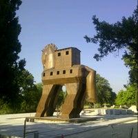 Photo taken at Truva (Troia) Milli Parkı by tyas r. on 5/12/2013