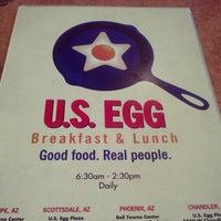 Photo taken at U.S. Egg Scottsdale by Die K. on 10/28/2012